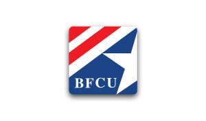 Sheppard Redefining Voiceover bfcu logo